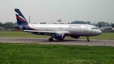 VP-BWI - Airbus A320-214 - Aeroflot