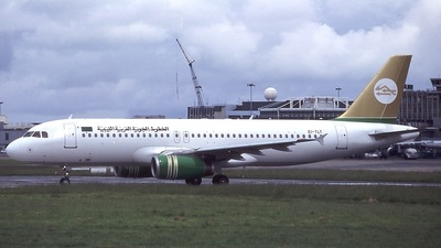 EI-TLT - Airbus A320-211 - Libyan Arab Airlines (TransAer International Airlines)