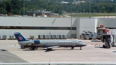 N660BR - Bombardier CRJ-200ER - United Express (Atlantic Coast Airlines)
