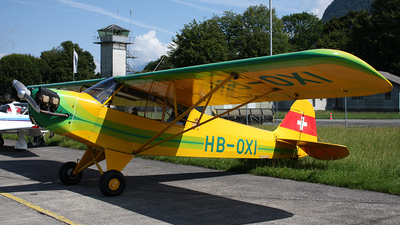 A picture of HBOXI - Piper J3C65 Cub - [12896] - © Sandy Siegenthaler
