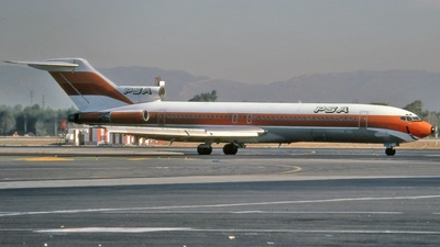 N384PS - Boeing 727-254 - Pacific Southwest Airlines (PSA)