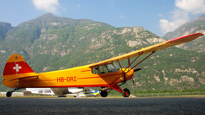 HB-ORZ - Piper PA-18 Super Cub - Private