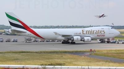 OO-THC - Boeing 747-4HAERF - Emirates SkyCargo (TNT Airways)