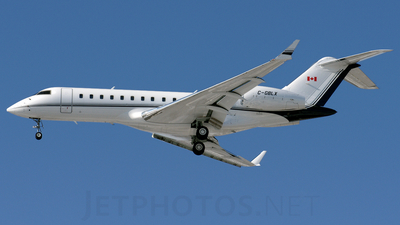 C-GBLX - Bombardier BD-700-1A10 Global Express - Private