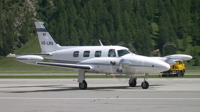 HB-LRV - Piper PA-31T2-620 Cheyenne IIXL - Private