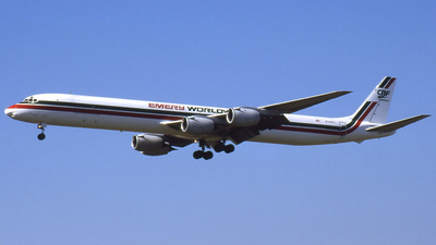 N792FT - Douglas DC-8-73(F) - Emery Worldwide