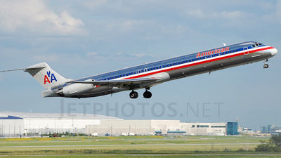 N241AA - McDonnell Douglas MD-82 - American Airlines