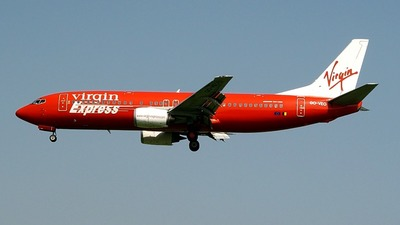 OO-VEO - Boeing 737-4Y0 - Virgin Express