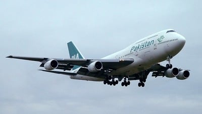 AP-BFY - Boeing 747-367 - Pakistan International Airlines (PIA)