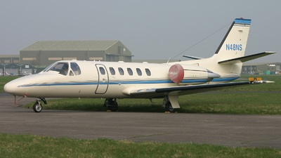 N48NS - Cessna 550B Citation Bravo - Private