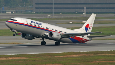 9M-MMS - Boeing 737-4H6 - Malaysia Airlines