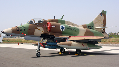 357 - McDonnell Douglas A-4N Ahit - Israel - Air Force