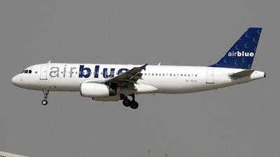 AP-BGW - Airbus A320-231 - Airblue
