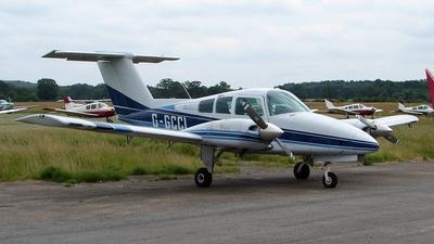 G-GCCL - Beechcraft 76 Duchess - Private