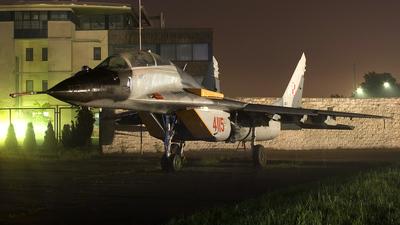 4115 - Mikoyan-Gurevich MiG-29UB Fulcrum B - Poland - Air Force