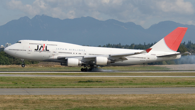 JA8901 - Boeing 747-446 - Japan Airlines (JAL)