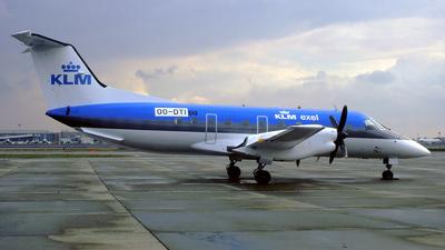 OO-DTI - Embraer EMB-120ER Brasília - KLM Exel