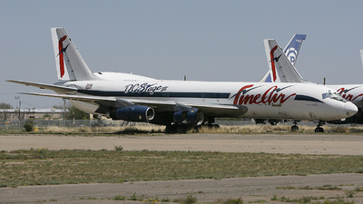 N426FB - Douglas DC-8-54(F) - Fine Air