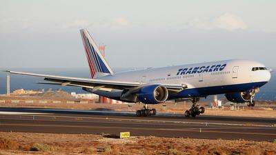 EI-UNU - Boeing 777-212(ER) - Transaero Airlines