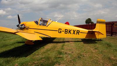 A picture of GBKXR - Druine D.31A Turbulent - [303] - © IAN CHANTLER
