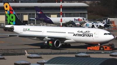 5A-ONG - Airbus A330-202 - Afriqiyah Airways