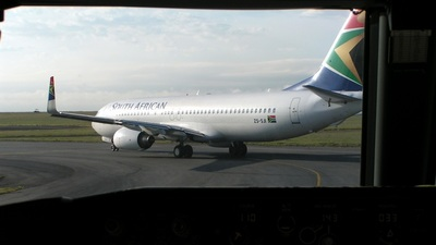 ZS-SJI - Boeing 737-85F - South African Airways