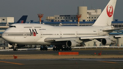 JA812J - Boeing 747-346 - Japan Airlines (JAL)