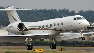 N550PR - Gulfstream G550 - Private