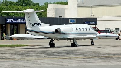 N219RB - Gates Learjet 25D - Private