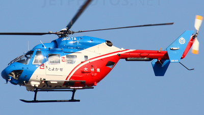 JA01TA - MBB-Kawasaki BK117C-1 - Japan - Oita Prefecture