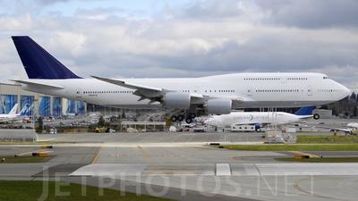 N6067U - Boeing 747-830 - Boeing Company