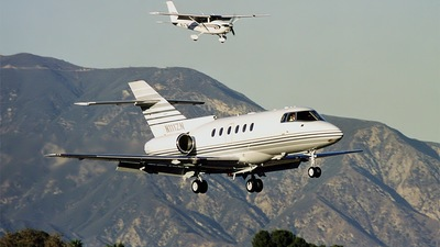 N111ZN - Raytheon Hawker 800XP - Private