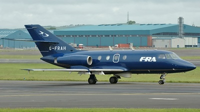 G-FRAH - Dassault Falcon 20C - Flight Refuelling Aviation