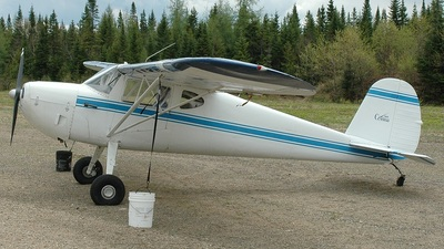 C-FLHF - Cessna 140 - Private