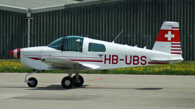 HB-UBS - Grumman American AA-1A Trainer - Private
