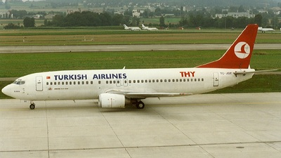 TC-JDT - Boeing 737-4Y0 - THY Turkish Airlines