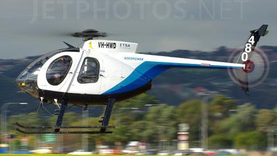 VH-HWD - Hughes 500D - Aeropower