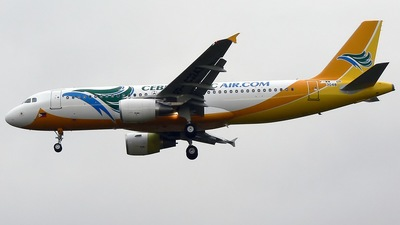 F-WWDR - Airbus A320-214 - Cebu Pacific Air