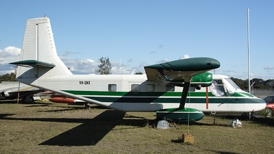 VH-SNX - GAF N22B Nomad - Private