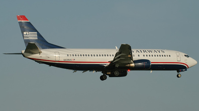 N439US - Boeing 737-4B7 - US Airways