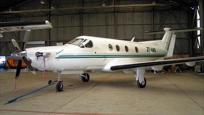 ZS-AMS - Pilatus PC-12 - Private