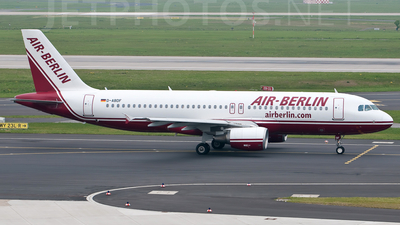 D-ABDF - Airbus A320-214 - Air Berlin