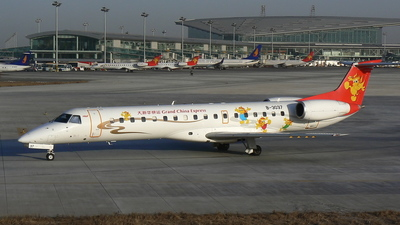 B-3037 - Embraer ERJ-145LI - Grand China Express
