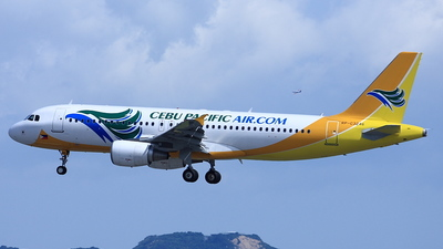 RP-C3246 - Airbus A320-214 - Cebu Pacific Air
