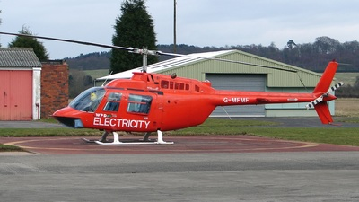 A picture of GMFMF - Bell 206B JetRanger III - [3569] - © Robert Beaver