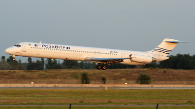 UR-CDA - McDonnell Douglas MD-82 - Khors Aircompany