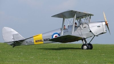 G-AOIL - De Havilland DH-82A Tiger Moth - Private