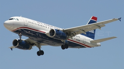N814AW - Airbus A319-132 - US Airways (America West Airlines)