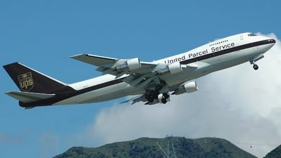N521UP - Boeing 747-212B(SF) - United Parcel Service (UPS)