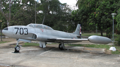 703 - Lockheed T-33A Shooting Star - Cuba - Air Force